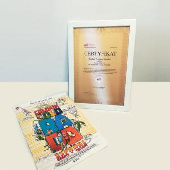 Certyfikat Bezpieczne Dziecko dla Colorin Colorado